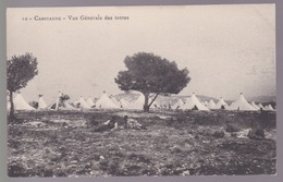 Carpiagne. Vue Générale Des Tentes - Oorlog 1914-18