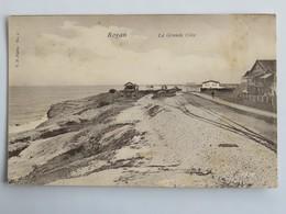 C.P.A. : 17 ROYAN : La Grande Côte, Rails Du Tramway, Timbre En 1903 - Royan