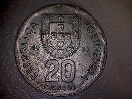 Portugal 1987, 20 Escudos B - Portugal