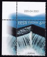 2001, EESTI, 399, Europa: Lebensspender Wasser. MNH ** - Estland