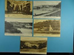 10 Cartes Postales De Belgique (Namur Et Lives) - Cartes Postales