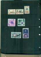 TCHAD TELECOMMUNICATIONS SPATIALES -100 U.IT.-LUNA XVI-XVII 7 VAL NEUFS A PARTIR DE 0.90 EUROS - Tchad (1960-...)