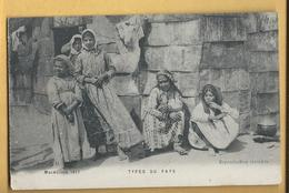 C.P.A. Macédoine 1917 - Types Du Pays - Yougoslavie