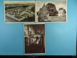 3 Cartes Postales De L'Abbaye D'Orval - Cartes Postales