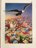 Affiche D'hommage à Tintin (1992). - Livres, BD, Revues