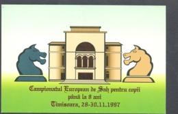 74974- EUROPEAN CHESS CHAMPIONSHIP FOR CHILDRENS, GAMES - Chess