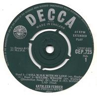 "Kathleen Ferrier  ""  I Will Walk With My Love  "" - Vinyles"