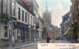 Belgique - Enghien - Rue De Bruxelles - Edit. Nels Série 89 N° 10 - Couleurs - Enghien - Edingen