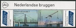 """HOLANDA/ NETHERLANDS/ NEDERLAND/ NIEDERLANDE - EUROPA 2018  -""""PUENTES.- BRIDGES - BRÜCKEN - PONTS""""- SERIE De 2 V. - 2018"""