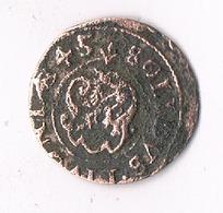 SCHILLING  1645  LIVONIA LETLAND /0368/ - Latvia