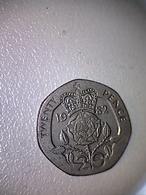 Grande-Bretagne 1982, 20 Pence ( B ) - 1971-… : Monnaies Décimales