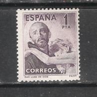 ESPAÑA 1950. SAN JUAN DE DIOS. EDIFIL Nº 1070 MNH**  (31€) - 1931-50 Nuevos & Fijasellos