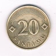 20 SANTIMU 2009  LETLAND /0370/ - Latvia