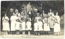 Cpa Carte-photo Journée Récréative, Religieuse Et Jeune Filles / Femmes - Alger ?  ( CPH ) - Christianisme