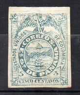 Col11  Panama  N° 1 Neuf Sans Gomme Cote  32,50 Euros - Panama