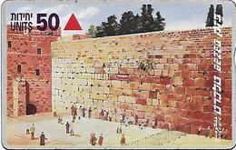 Israel: Bezeq - Jerusalem, The Western Wall - Israel