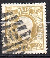 Col11  Portugal N° 28 Oblitéré Cote  135,00 Euros - 1862-1884 : D.Luiz I