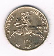 10 CENTU 1925 LITOUWEN /0373/ - Lituanie