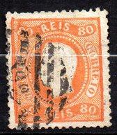 Col11  Portugal N° 43 Oblitéré Cote  35,00 Euros - 1862-1884 : D.Luiz I