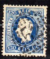 Col11  Portugal N° 45 Oblitéré Cote  100,00 Euros - 1862-1884 : D.Luiz I