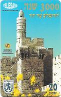 Israel: Prepaid Telesave - Jerusalem David's Tower - Israel