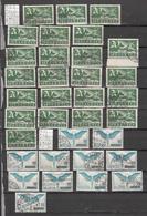 LOT   OBLITERES TRES  BONNE COTE  DE BELLE OBLITERATIONS   CATALOGUE ZUMSTEIN - Stamps