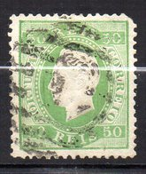 Col11  Portugal N° 41 Oblitéré Cote  50,00 Euros - 1862-1884 : D.Luiz I