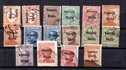Italie/Vénétie Julienne Petite Collection D'oblitérés. Bonnes Valeurs. B/TB. A Saisir! - Bezetting 1° Wereldoorlog