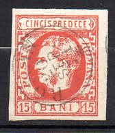 Col11  Roumanie N° 23 Oblitéré Used Cote  25,00 Euros - 1881-1918: Carol I.