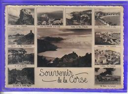 Carte Postale 20. Géographique  Corses Très Beau Plan - France