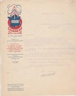 Lettre Illustrée 11/4/1925 COUSSEAU Concessionnaire Tramways électiques Funiculaire BAYONNE Basses Pyrénées - France