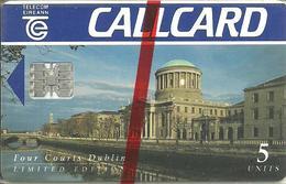 Ireland: Telecom Eireann: Dublin, Four Courts - Ireland