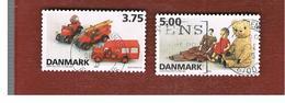 DANIMARCA (DENMARK)  -   SG 1059.1060  -  1995 DANISH TOYS    - USED ° - Usati