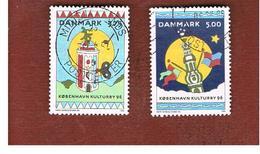 DANIMARCA (DENMARK)  -   SG 1063.1064  -  1996 COPENHAGEN EUROPEAN CULTURAL CAPITAL     - USED ° - Usati