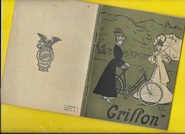"Catalogue 1906 Cycles & Motos ""GRIFFON"" 30 Pages + Couverture Format 18 X 14 Cm Env.. - Cycling"