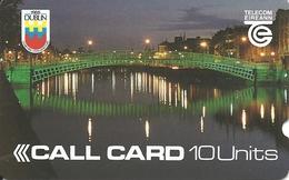 Ireland: Telecom Eireann: Dublin, Ha'Penny Bridge - Ireland
