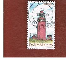 DANIMARCA (DENMARK)  -   SG 1079  -  1996  LIGHTHOUSES: BOVBJERG     - USED ° - Usati