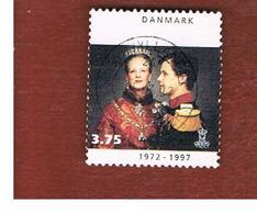 DANIMARCA (DENMARK)  -   SG 1087 -  1997  SILVER JUBILEE    - USED ° - Usati