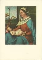 """Venezia (Veneto) Galleria Dell'Accademia """"Sacra Conversazione"""" (partic.) Del Giorgione - Venezia"""