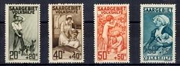 Sarre YT N° 103/106 Neufs ** MNH. TB. A Saisir! - 1920-35 League Of Nations