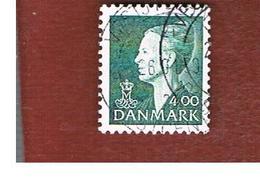 DANIMARCA (DENMARK)  -   SG 1093 -  1997  QUEEN MARGRETHE II   4,00 GREEN    - USED ° - Danimarca