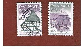 DANIMARCA (DENMARK)  -   SG 1112.1113 -  1997 OPEN AIR MUSEUM   - USED ° - Danimarca