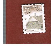 DANIMARCA (DENMARK)  -   SG 1114 -  1997 OPEN AIR MUSEUM: TOFTUM FARM, ROMO   - USED ° - Usati
