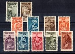 Sarre YT N° 121/124 Et N° 165/171 Neufs *. B/TB. A Saisir! - 1920-35 League Of Nations