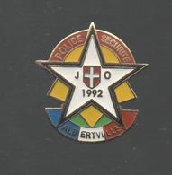 PINS PIN'S POLICE SECURITE JO ALBERTVILLE 1992 EGF - Police
