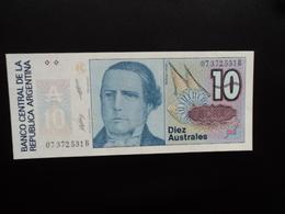 ARGENTINE : 10 AUSTRALES   ND 1985   P 325b     NEUF - Argentine