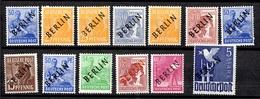 Berlin Petite Collection Neufs ** MNH 1948. Bonnes Valeurs. TB. A Saisir! - Berlin (West)