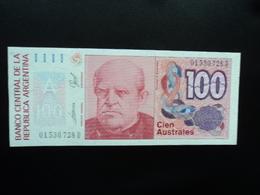 ARGENTINE : 100 AUSTRALES   ND 1985   P 327c      NEUF - Argentine
