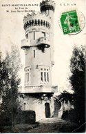42. Saint Martin La Plaine. Tour Marrel. Coin Bas Droit Cassé - Autres Communes