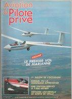 Revue Aviation Et Pilote N°142 Novembre 1985 - Vol à Voile Le 1er Vol De Marianne - DC 10 - Hélico - Concorde - Aviation
